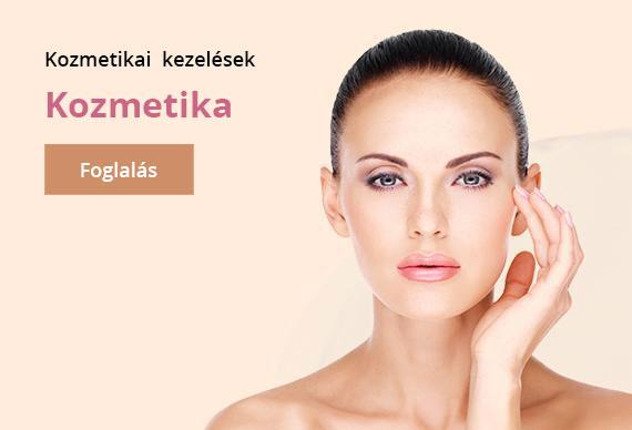 kozmetikai kezelések - kozmetika