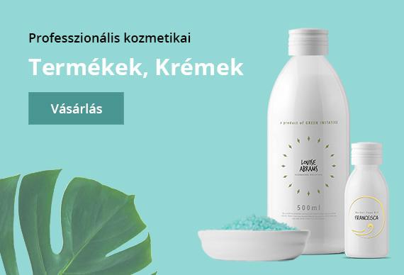 professzionális kozmetikai termékek krémek