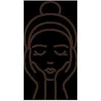 Kozmetika - arc és dekoltázs masszázs